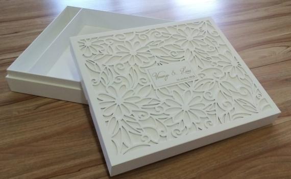 Cofanetto in legno personalizzato